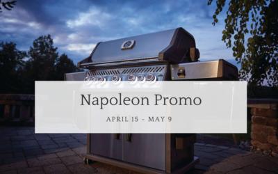 Napoleon: Free BBQ Cover